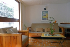Sala con sofa y sillon