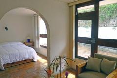 Sala y terraza privada
